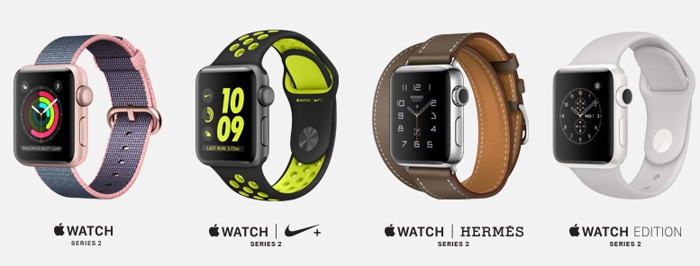 Apple iWatch Series 2 Launched