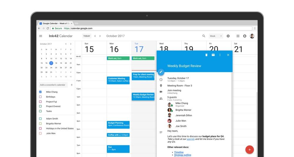 Google Calendar ganha interface renovada com o Material Design e