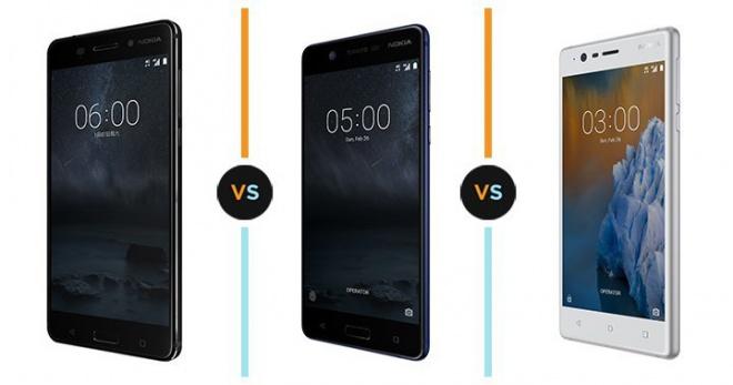 Nokia 6 vs Nokia 5 vs Nokia 3: what makes them different ...