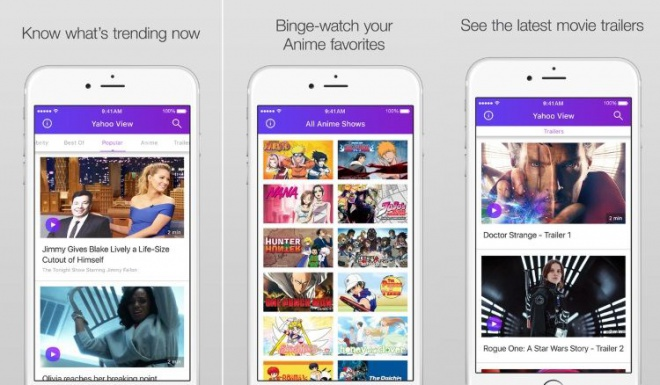 Yahoo Has Officially Released IOS Apps For View Service The App Is Available Both IPhone And IPad So That You Can Stream Enjoy Views