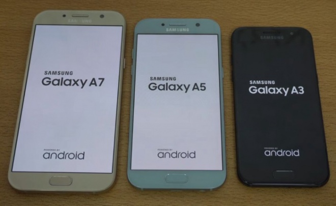samsung galaxy a7 vs galaxy a5 vs galaxy a3 2017 speed test with geekbench results. Black Bedroom Furniture Sets. Home Design Ideas