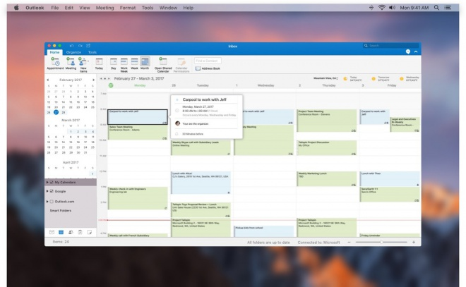 Outlook 2016 for Mac Preview now available for free download till June ...