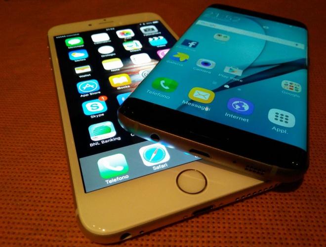 iphone 6s vs samsung s7 edge